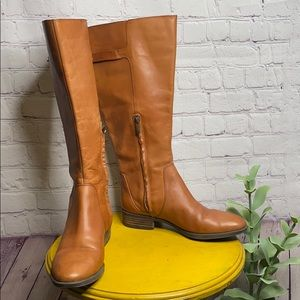Sam Edelman Patton 2 Riding Leather Knee Boots 8.5